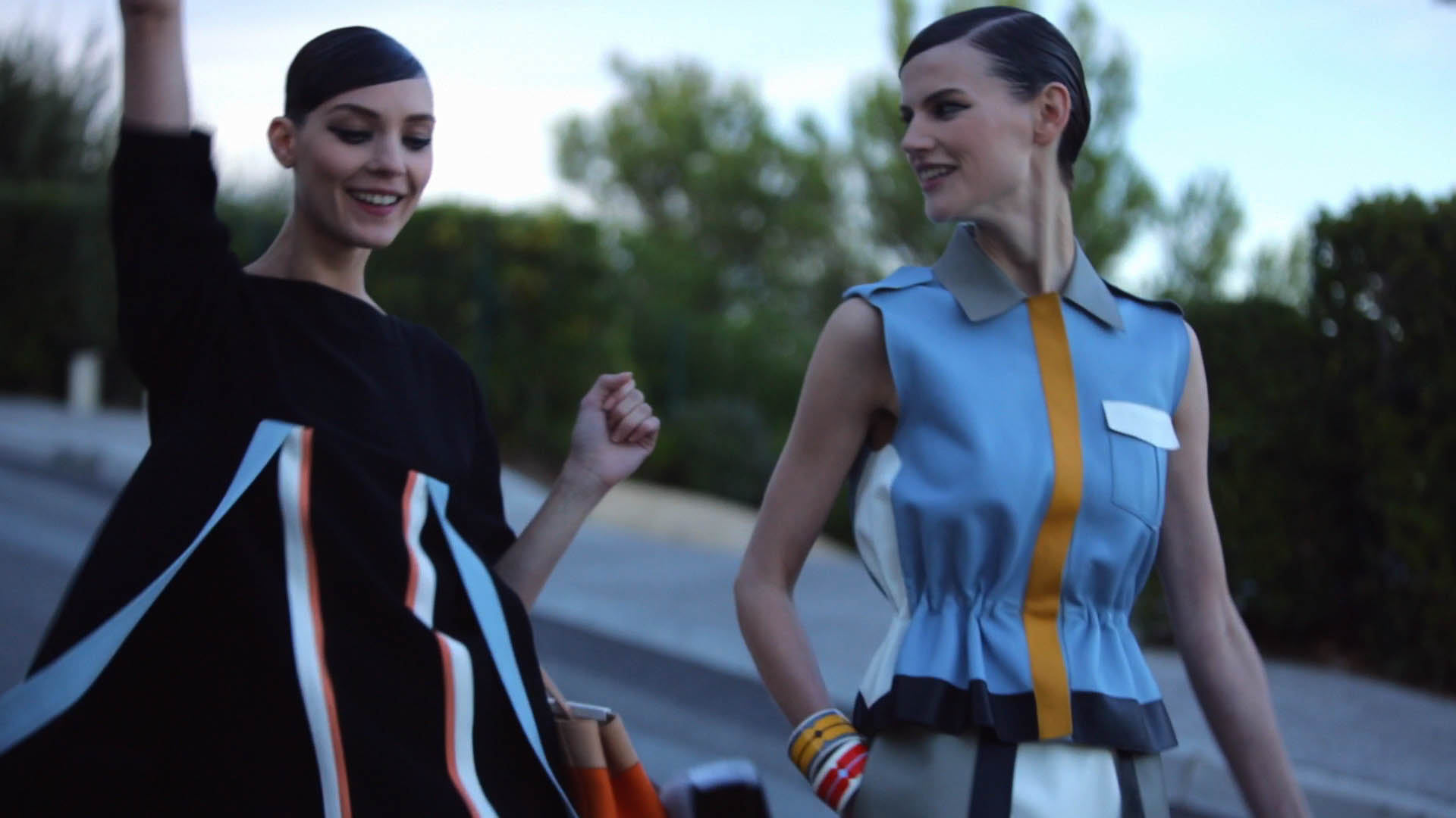 FENDI MAKING-OF SPRING-SUMMER 2013-IMAGE 2