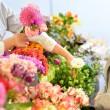 3.フローに沿って花を選ぶ様子イメージ