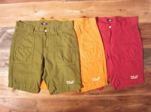 ㈰COLOR OVER-DYE SHORTS(阪急限定カラー)_14000円(TAX別)