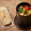 【料理】季節のアヒージョ(¥1400)