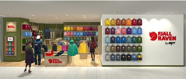 FJALLRAVEN STORE by 3NITY 博多アミュプラザ