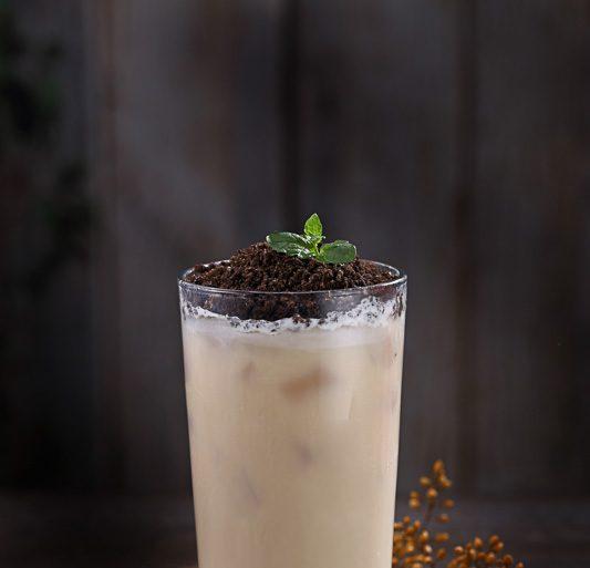 盆栽ミルクティー