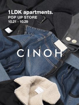 Cinoh Pop up store