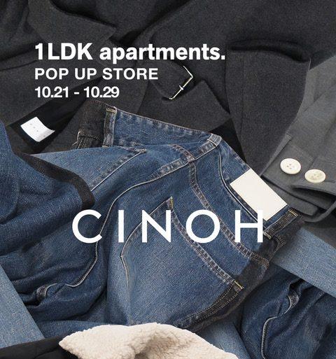 Cinoh Pop up store