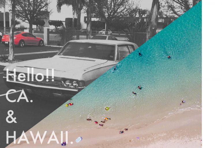 HELLO CA.&HAWAII