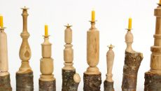 1_PASS THE BATON_WOODEN CANDLESTAND