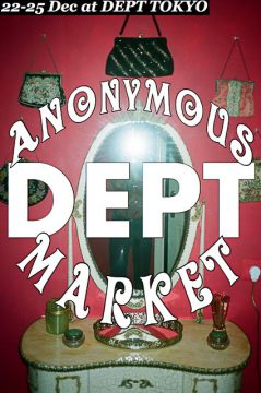 Anonymous market by DEPT
